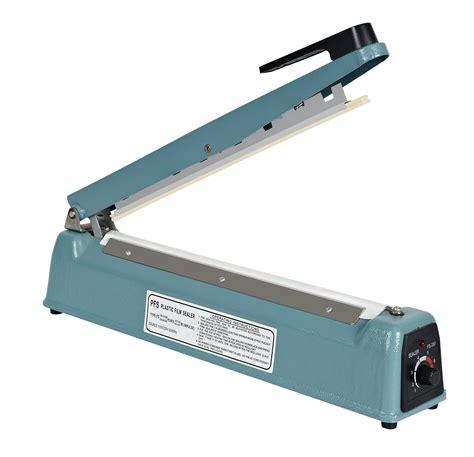 impulse manual heat sealer mm wide seal machine fs  impulse heat sealervacuum sealerhot