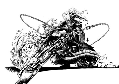 Ghost Rider Avengers Drone Fest
