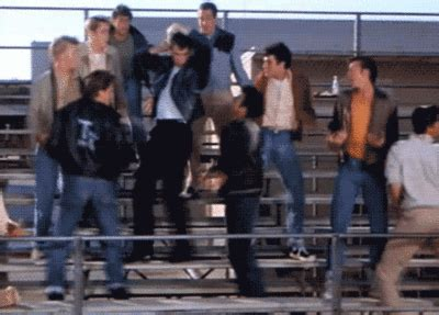 john travolta grease gif find share  giphy