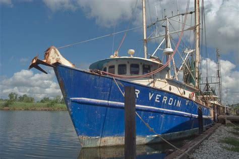 Shrimp Boat History by Shrimp Boat South Louisiana Bayou Grand Caillou I