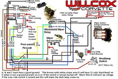 wiper motor   tach sol corvetteforum chevrolet