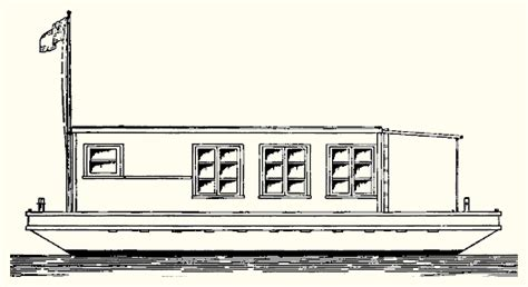 House Boat Drawing Easy by Atkin Co Nautilus