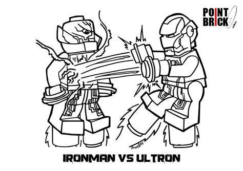 iron disegni da colorare per bambini disegno da colorare per bambini lego iron vs ultron