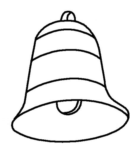 printable bell coloring pages  kids