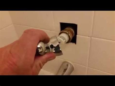 delta shower handle removal delta shower valve handle removal bonnet nut stuck