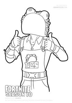 Fortnite coloring pages | Coloring pages, Blank coloring