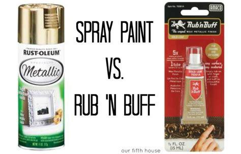spray paint tips spray paint vs rub n buff might try rub n buff for chandelier chandelier ideas pinterest