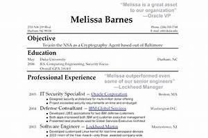 High School Graduate Resume