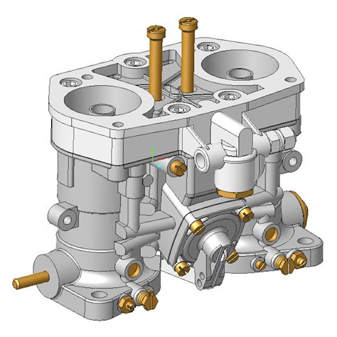 weber idf  carb  cad model dbbp shop