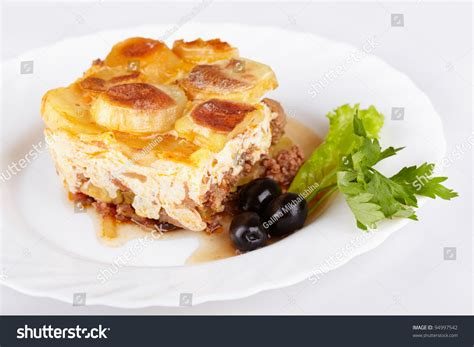 casserole cuisine cuisine moussaka casserole of minced and