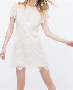 les jolies dentelles blanches les jolis mondes With robe dentelle blanche zara