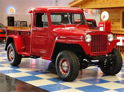 old truck jeep willys jeep pick up 1947 willys pickup 34900 make