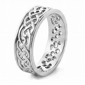Mens celtic wedding rings ms wed94 for Celtic wedding rings for men
