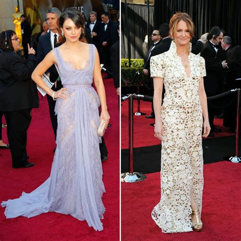 Oscars Fashion Hits And Misses All The Rage Los