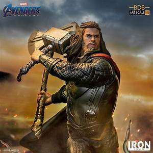 Avengers: Endgame - Thor Battle Diorama Statue by Iron ...