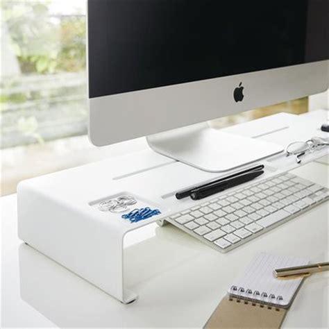 rehausseur ordinateur bureau réhausseur d écran organiseur de bureau monitor stand