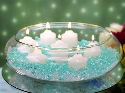 Floating Candle Bowls   Home Lighting Design Ideas