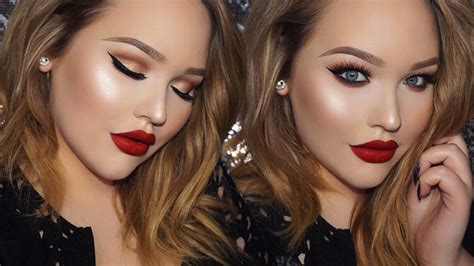 adele classic glam  brit awards inspired makeup