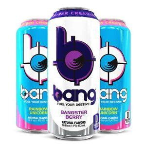 Vpx Bang Energy Drink Pack Brand New Free Shipping
