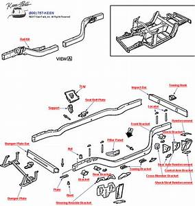 2003 Corvette Frame Assembly Parts