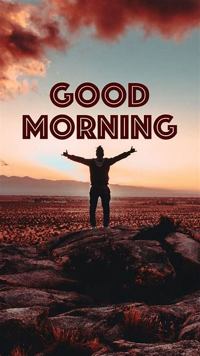 Morning Wallpapers Inscription Background Silhouette Victory Definition