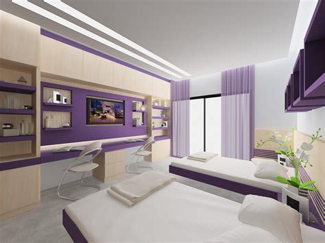 Young Girl Bedroom False Ceiling Design  Home Combo