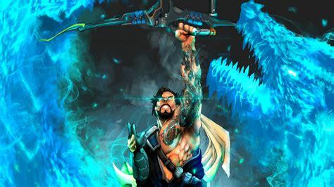 wallpaper dragon hanzo overwatch archer tattoo video