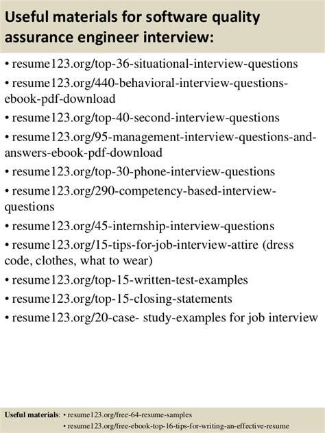 quality assurance engineer resume pdf top 8 software quality assurance engineer resume sles