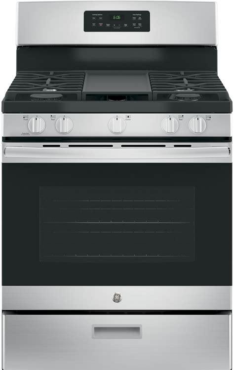 ge jgbsrekss    standing gas range   sealed burners  cu ft oven capacity