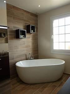modele de salle de bain avec douche et baignoire maison With modele de salle de bain avec baignoire