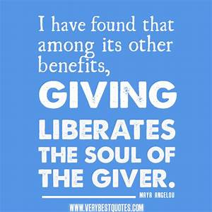 Giving To Others Quotes. QuotesGram