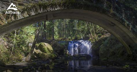 whatcom falls park washington parks alltrails map trails