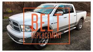2010 Dodge Ram Serpentine Belt Replacment