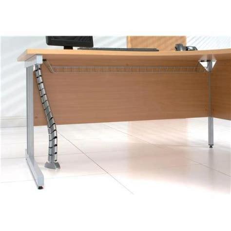 under desk wire management trexus cable management basket under desk w150xl1200mm