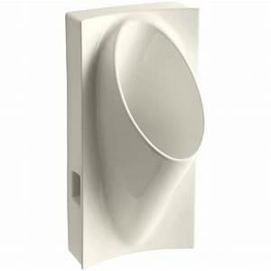 KOHLER Steward Waterless Urinal In Biscuit K 4918 96 The