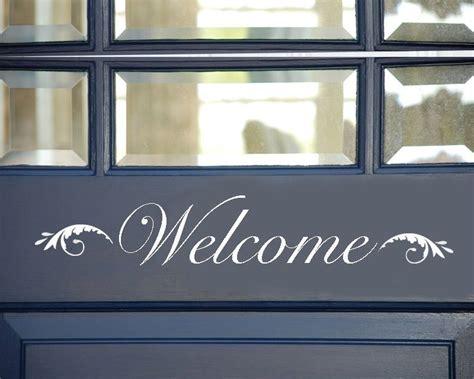 welcome signs for door welcome sign vinyl welcome sign front door welcome sign