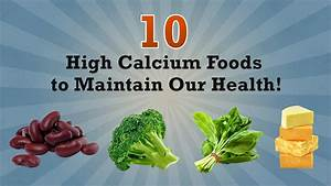 Calcium Chart Top 10 High Calcium Foods That Are Must In Your Diet