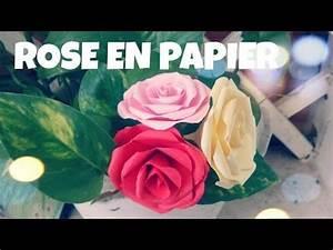 Comment Faire Des Roses En Papier : comment faire une rose en papier tres facile youtube astuces paper flowers origami rose ~ Melissatoandfro.com Idées de Décoration