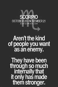 17 Best images ... Zodiac Sign Scorpio Quotes