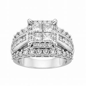 fred meyer jewelers 3 ct tw diamond centerpiece With fred meyers wedding rings