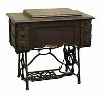 """antique sewing machine table Minnesota """"A"""" Antique Sewing Machine Table with Cast Iron ..."""