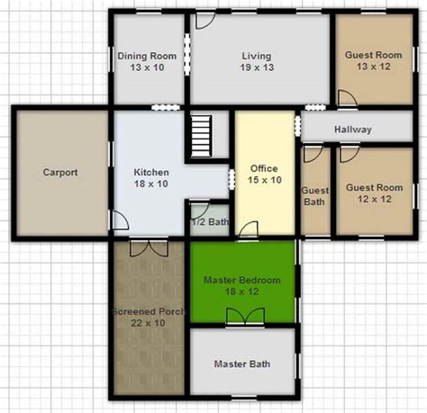 create a floor plan for free draw your own house plans plan 3d home plans 1 marvelous