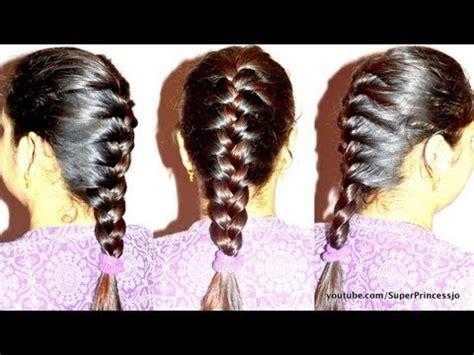 basic french braid hair tutorial step  step