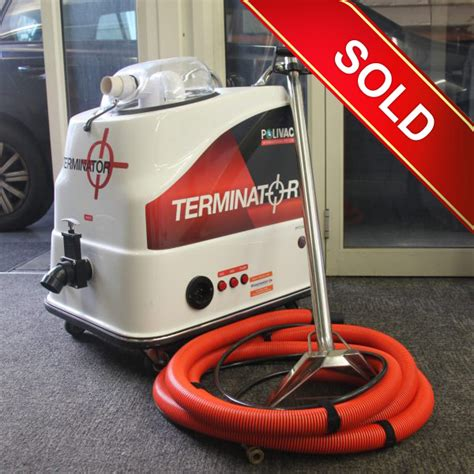 polivac terminator carpet  upholstery cleaning package