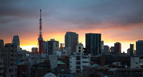 tokyo skyline michael weening   pictures