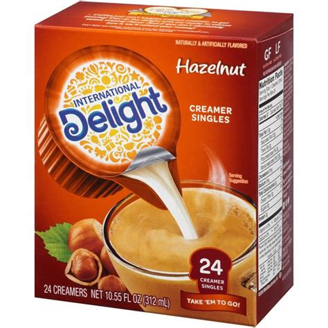 I don't think for a moment that just because i choose to be frugal, i have to miss out on life's simple pleasures. International Delight Mini I.D.'s Hazelnut Single Serve Non-Dairy Coffee Creamer 24Ct | Hy-Vee ...