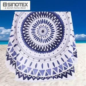 100% Cotton Round Beach Towel 150*150cm/59*59'' Bath Towel