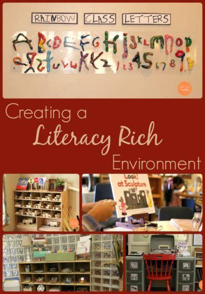 creating  literacy rich environment fairy dust teaching
