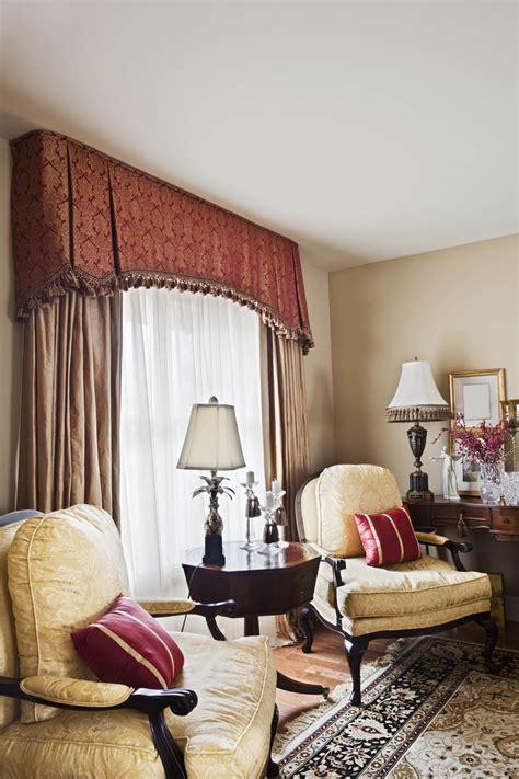 valance  decorative tassel trim interior design