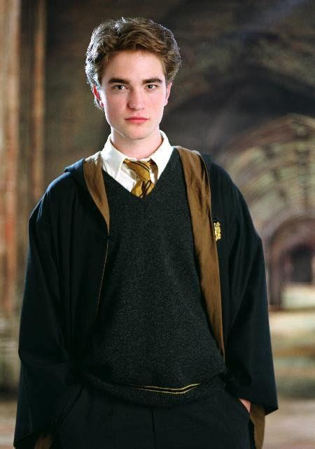 Cedric Diggory (Robert Pattinson) in Harry Potter and the ...